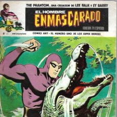 Cómics: EL HOMBRE ENMASCARADO. EDICION EN ESPAÑOL. Nº 35. COMICS-ART. 30 JULIO 1974. Lote 87398420