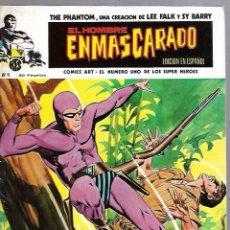Cómics: EL HOMBRE ENMASCARADO. EDICION EN ESPAÑOL. Nº 15. COMICS-ART. 30 OCTUBRE 1974. Lote 87399556