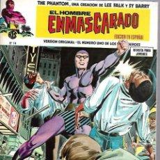 Cómics: EL HOMBRE ENMASCARADO. EDICION EN ESPAÑOL. Nº 14. COMICS-ART. 1974. Lote 87399648