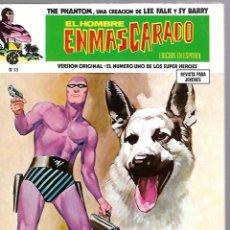 Cómics: EL HOMBRE ENMASCARADO. EDICION EN ESPAÑOL. Nº 13. COMICS-ART. 1974. Lote 87399708