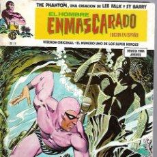 Cómics: EL HOMBRE ENMASCARADO. EDICION EN ESPAÑOL. Nº 11. COMICS-ART. 1974. Lote 87399800