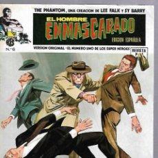 Cómics: EL HOMBRE ENMASCARADO. EDICION EN ESPAÑOL. Nº 6. COMICS-ART. 1974. Lote 87400064