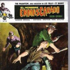 Cómics: EL HOMBRE ENMASCARADO. EDICION EN ESPAÑOL. Nº 4. COMICS-ART. 1973. Lote 87400180