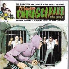 Cómics: EL HOMBRE ENMASCARADO. EDICION EN ESPAÑOL. Nº 3. COMICS-ART. 1973. Lote 87400220