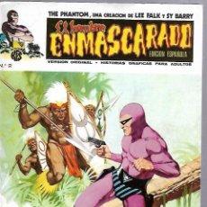 Cómics: EL HOMBRE ENMASCARADO. EDICION EN ESPAÑOL. Nº 2. COMICS-ART. 1973. Lote 87400264
