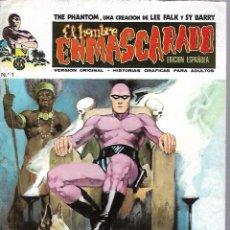 Cómics: EL HOMBRE ENMASCARADO. EDICION EN ESPAÑOL. Nº 1. COMICS-ART. 1973. Lote 87400320