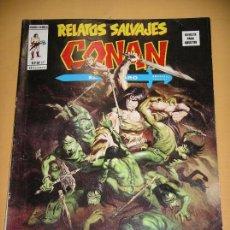 Cómics: RELATOS SALVAJES Nº 17. CONAN, VÉRTICE 1974, MARVEL MUNDICOMICS, MUNDI COMICS, ERCOM. Lote 87472092