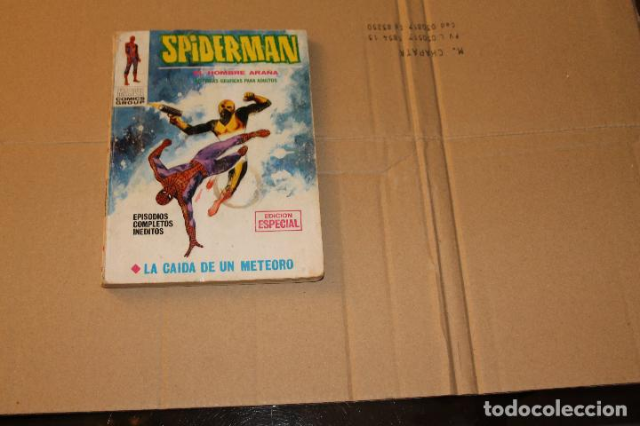 SPIDERMAN Nº 14, VOLUMEN 1, 128 PÁGINAS, EDITORIAL VÉRTICE (Tebeos y Comics - Vértice - V.1)