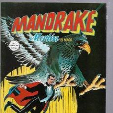 Cómics: MANDRAKE. MERLIN EL MAGO. Nº 8. EL TIBURON DE ACERO. Lote 88293984