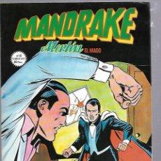 Cómics: MANDRAKE. MERLIN EL MAGO. Nº 10. LOS DOS HERMANOS. Lote 88294148