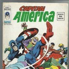 Cómics: CAPITÁN AMÉRICA V.2 Nº 5, 1975, VERTICE MUY BUEN ESTADO. Lote 88352936