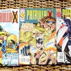Cómics: LOTE DE 3 COMICS PATRULLA X. Lote 89405460
