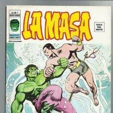 Cómics: LA MASA VOL. 3 Nº 9, 1976, VERTICE MUY BUEN ESTADO. Lote 89443060