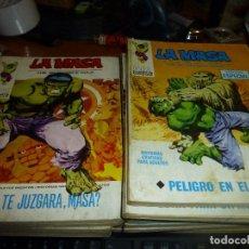 Cómics: LA MASA, 12 NUMEROS, EDICIONES VERTICE, DE TACO. Lote 89476984