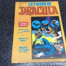 Cómics: LA TUMBA DE DRACULA, VOLUMEN 2 Nº 6 ( TEBEO TERROR ). Lote 89624603