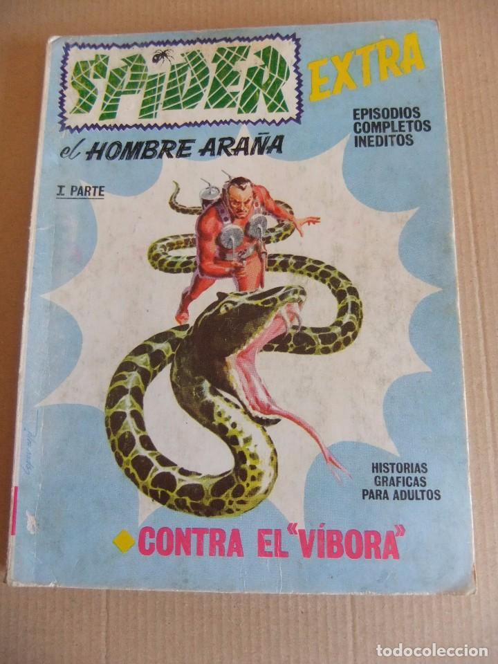 SPIDER Nº 23 VERTICE TACO CONTRA EL VIVORA (Tebeos y Comics - Vértice - Otros)