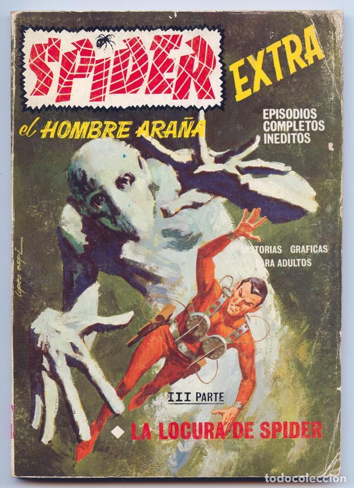 SPIDER, EL HOMBRE ARAÑA - Nº 14 - LA LOCURA DE SPIDER - ED. VERTICE - 1968 (Tebeos y Comics - Vértice - V.1)