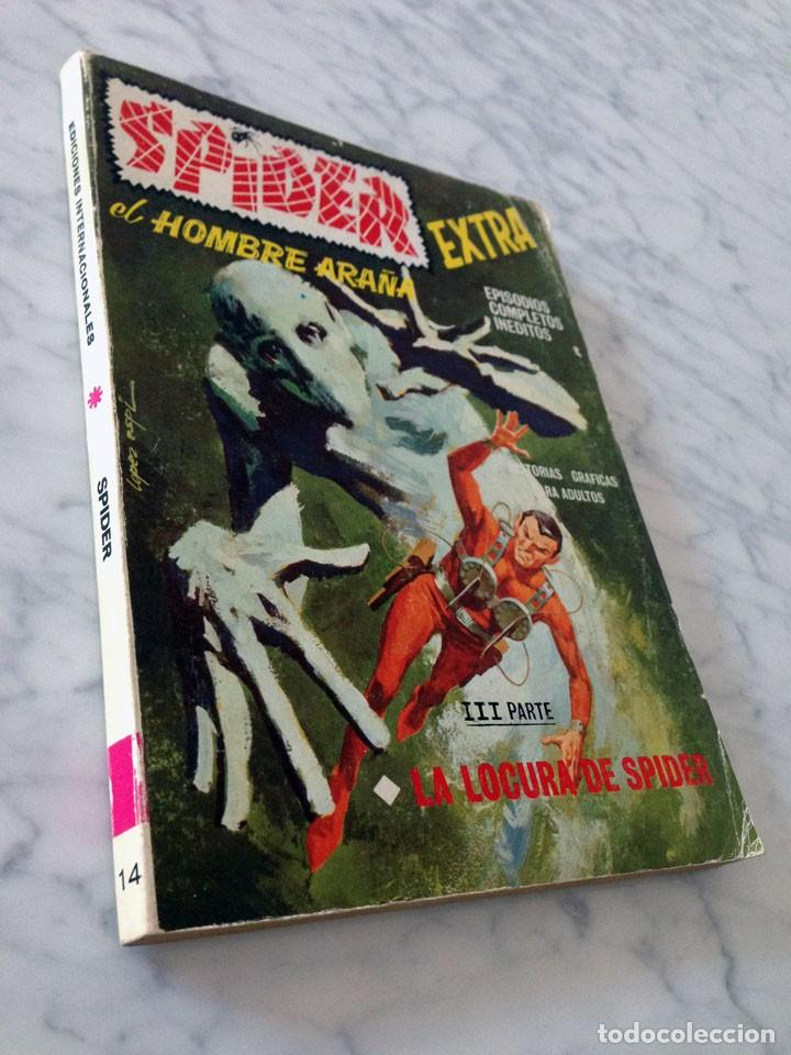Cómics: SPIDER, EL HOMBRE ARAÑA - Nº 14 - LA LOCURA DE SPIDER - ED. VERTICE - 1968 - Foto 3 - 90414739