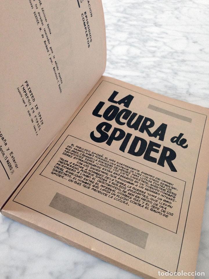 Cómics: SPIDER, EL HOMBRE ARAÑA - Nº 14 - LA LOCURA DE SPIDER - ED. VERTICE - 1968 - Foto 5 - 90414739