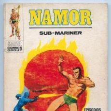 Cómics: NAMOR (SUB-MARINER) - Nº 22 - EL FUEGO DE LOS CIELOS - ED. VERTICE - 1972 . Lote 90798505