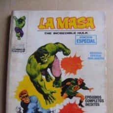 Cómics: LA MASA Nº 3 LOS ANILLOS DEL MANDARIN VERTICE TACO. Lote 90891935