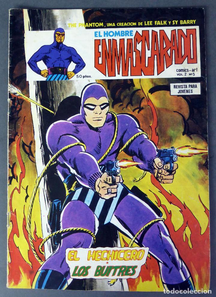 EL HOMBRE ENMASCARADO VOL 2 Nº 5 COMICS ART VÉRTICE 1979 EL HECHICERO LOS BUITRES (Tebeos y Comics - Vértice - Hombre Enmascarado)