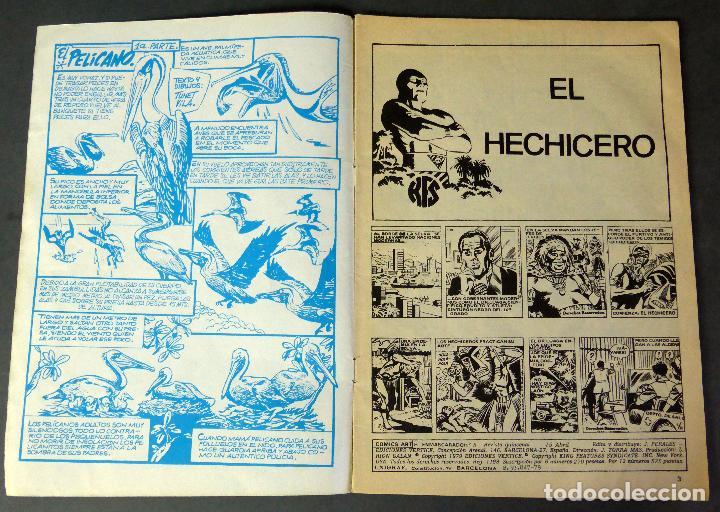 Cómics: El Hombre Enmascarado Vol 2 nº 5 Comics Art Vértice 1979 El hechicero Los Buitres - Foto 2 - 90961680
