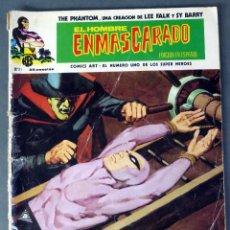 Cómics: EL HOMBRE ENMASCARADO Nº 21 COMICS ART VÉRTICE 1974 EL DICTADOR. Lote 90964835