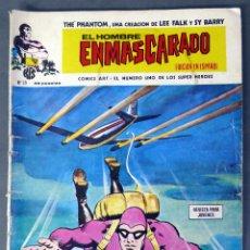 Comics: EL HOMBRE ENMASCARADO Nº 25 COMICS ART VÉRTICE 1974 EL SECUESTRO DE DAVE PALMER FIN DEL FANTASMA. Lote 90964920