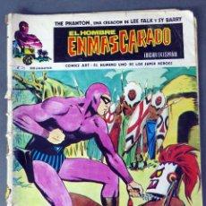 Cómics: EL HOMBRE ENMASCARADO Nº 26 COMICS ART VÉRTICE 1974 EL CABALLO VOLADOR LAS RATAS DEL PANTANO. Lote 90965135
