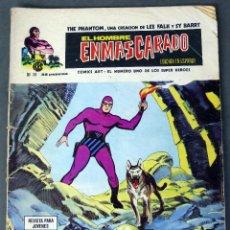 Cómics: EL HOMBRE ENMASCARADO Nº 38 COMICS ART VÉRTICE 1974 ORGANIZACIÓN T JIZZZZ. Lote 90965710