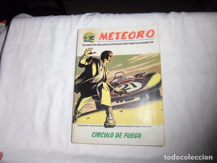 METEORO.CIRCULO DE FUEGO.-Nº 6 - ED. VERTICE - 1972 (Tebeos y Comics - Vértice - Otros)