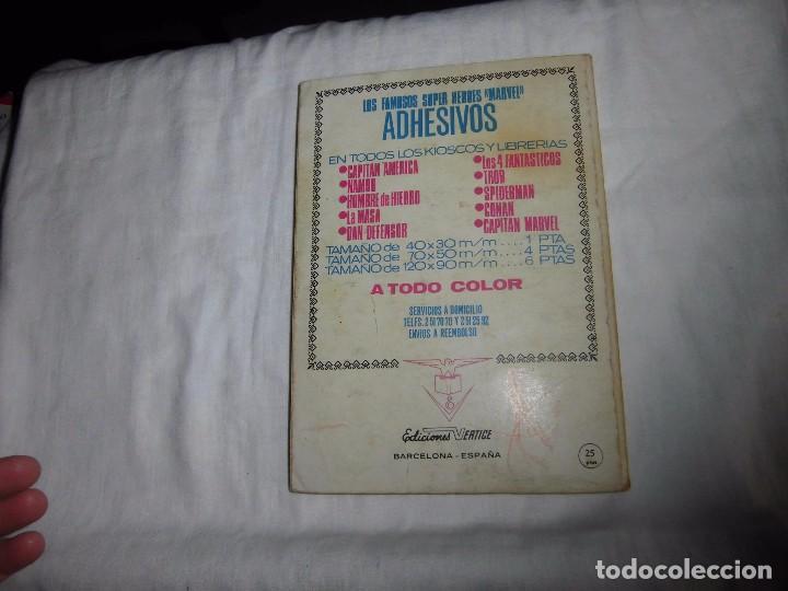 Cómics: METEORO.CIRCULO DE FUEGO.-Nº 6 - ED. VERTICE - 1972 - Foto 8 - 91011695