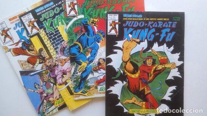COLECCIÓN COMPLETA RELATOS SALVAJES JUDO KARATE KUNG FU (Tebeos y Comics - Vértice - Relatos Salvajes)