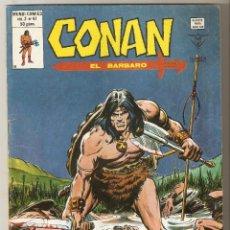 Cómics: CONAN EL BARBARO VOL2 Nº 41 50 PTS 1980 ¡EL CUBIL DE LOS HOMBRES-BESTIAS! - EXCELENTE. Lote 91552735