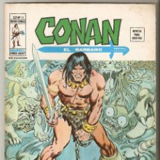 Cómics: CONAN EL BARBARO VOL2 Nº 13 35 PTS 1976 INCIDENTE EN ARGOS - VERTICE -. Lote 91580255