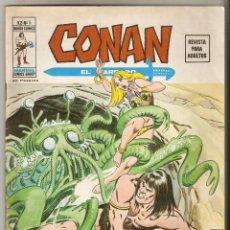 Cómics: CONAN VOL2 Nº 5 50 PTS 1974 EL DEMONIO DEL VALLE SOMBRÍO - VERTICE - . Lote 91580910