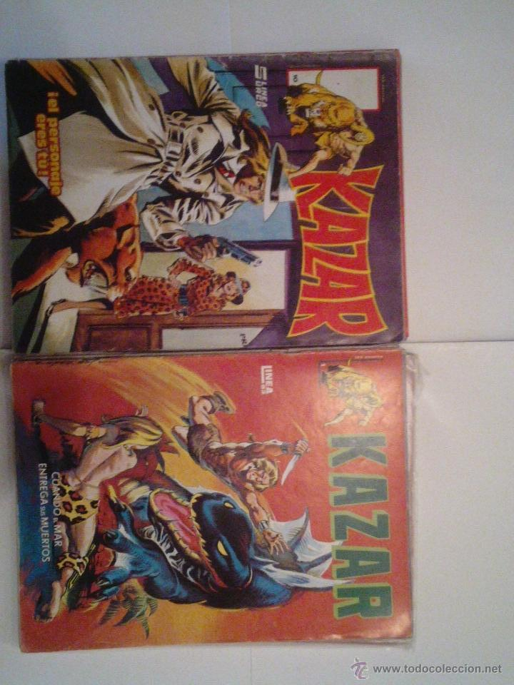 KAZAR - SURCO - VERTICE - COLECCION COMPLETA - CJ 37 - BUEN ESTADO - GORBAUD (Tebeos y Comics - Vértice - Surco / Mundi-Comic)