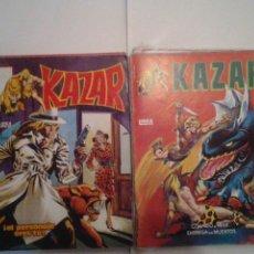 Cómics: KAZAR - SURCO - VERTICE - COLECCION COMPLETA - CJ 37 - BUEN ESTADO - GORBAUD. Lote 39554808