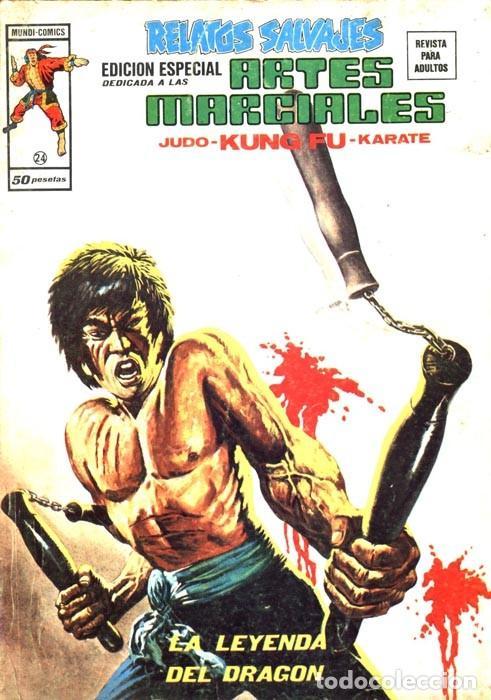 RELATOS SALVAJES ARTES MARCIALES VOL.1 Nº 24 - VÉRTICE (Tebeos y Comics - Vértice - Relatos Salvajes)