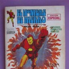 Cómics: EL HOMBRE DE HIERRO Nº 11 VERTICE VOLUMEN 1, ¡¡¡¡BASTANTE BUENO!!!!. Lote 92224390