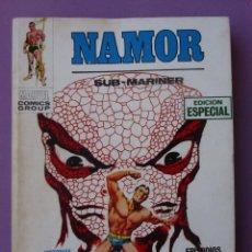 Cómics: NAMOR Nº 4 VERTICE VOLUMEN 1, ¡¡¡¡BASTANTE BUEN ESTADO!!!!. Lote 92225175