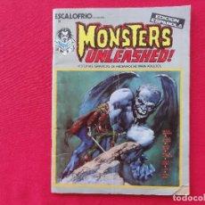 Comics: ESCALOFRIO. Nº 3 MONSTERS UNLEASHED Nº 1. . C-13. Lote 92348760
