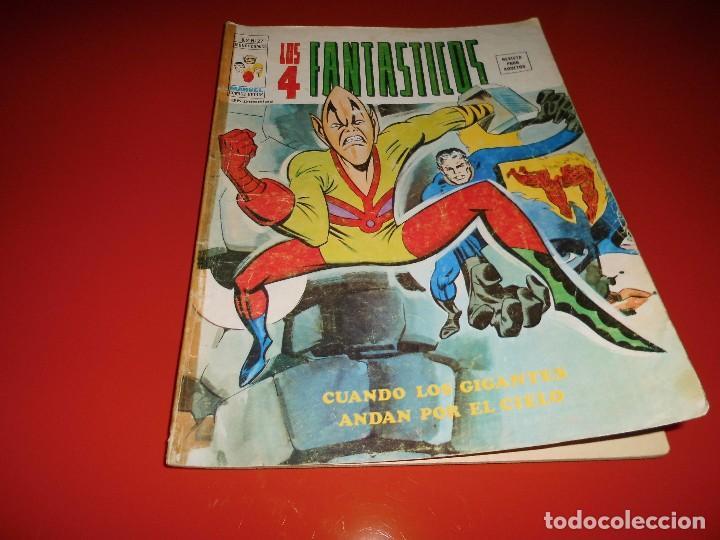 LOS 4 FANTASTICOS V.2 Nº 27 MUNDI-COMICS - VERTICE (Tebeos y Comics - Vértice - 4 Fantásticos)