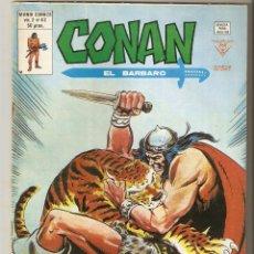 Cómics: CONAN VOL2 Nº 42 50 PTS 1980 LA TORRE DEL ELEFANTE - VERTICE - EXCELENTE . Lote 92739330