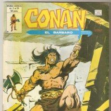 Cómics: CONAN EL BARBARO VOL2 Nº 39 50 PTS 1980 BURYAT SITIADA - VERTICE -. Lote 92739880