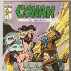 Cómics: CONAN EL BARBARO VOL2 Nº 31 40 PTS 1979 ¡NOCHE DE COLMILLOS Y GARRAS!. - VERTICE -. Lote 92743665
