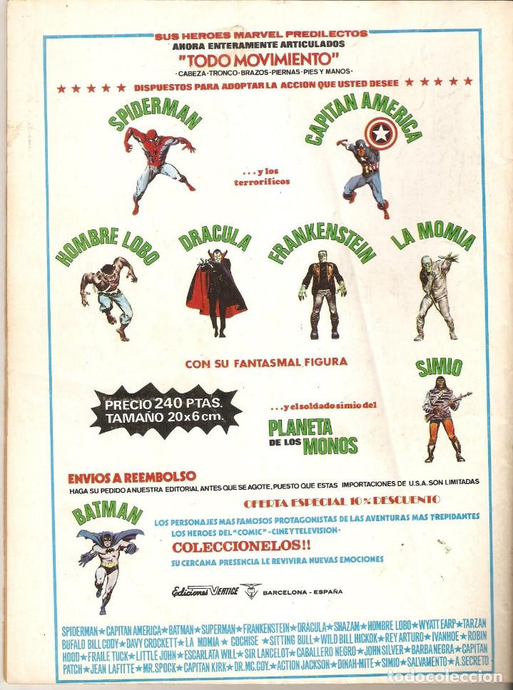 Cómics: VERTICE CONAN EL BARBARO VOL2 Nº 12 35 PTS.1974 SOMBRA SOBRE LA TIERRA - Foto 2 - 92747505