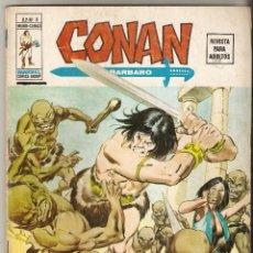 Cómics: CONAN VOL2 Nº 8 35 PTS 1975 DUENDES A LA LUZ DE LA LUNA- VERTICE - . Lote 92747955