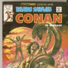 Cómics: CONAN EL BÁRBARO RELATOS SALVAJES VOL 1 N.º 82 - VERTICE -. Lote 92748105